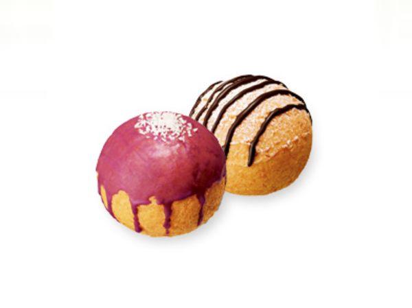 ポン・デ・シュードーナツ紫いも&クッキークリーム