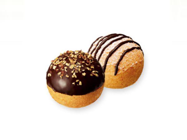 ポン・デ・シュードーナツ カスタード&クッキークリーム