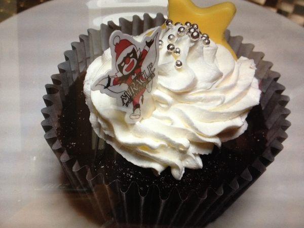 ミズド、カップケーキ